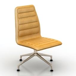 Chair Cappellini LOTUS LOW 3d model