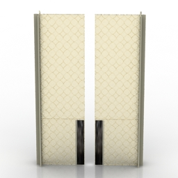 Door Endless Boiserie Sliding Doors Longhi 3d model