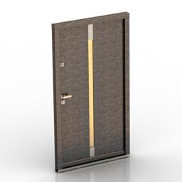 Door PortaDOORS 3d model