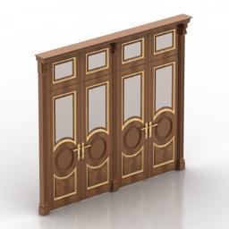 Door front 3d model