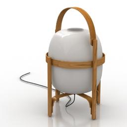Lamp CESTA by Santa & Cole 3d model
