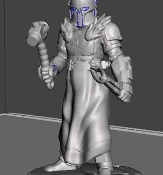 Mandalorian Armorer - A Remix