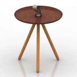 Table Rolf Benz 973 3d model