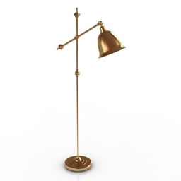 Torchere Lampgustaf NEWPORT 3d model