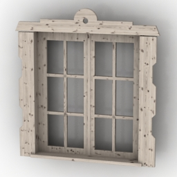 Window country 3d model
