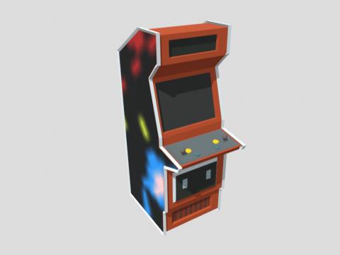 Arcade Machine Asset