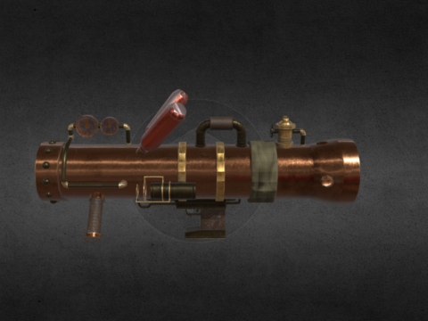 Game Asset: Bazooka