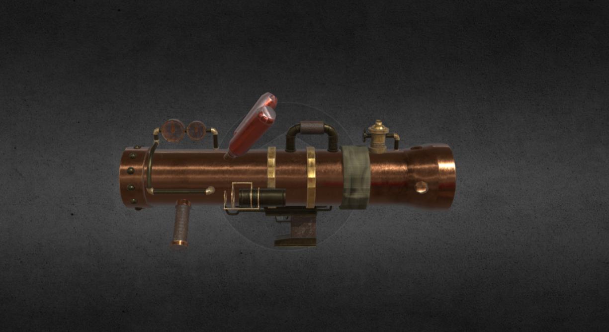Game Asset: Bazooka