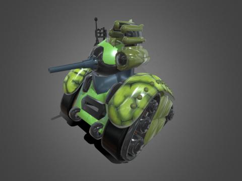 Cartoon Tank