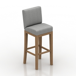 Chair Charter Furniture 4275 BRS Enos 3d model