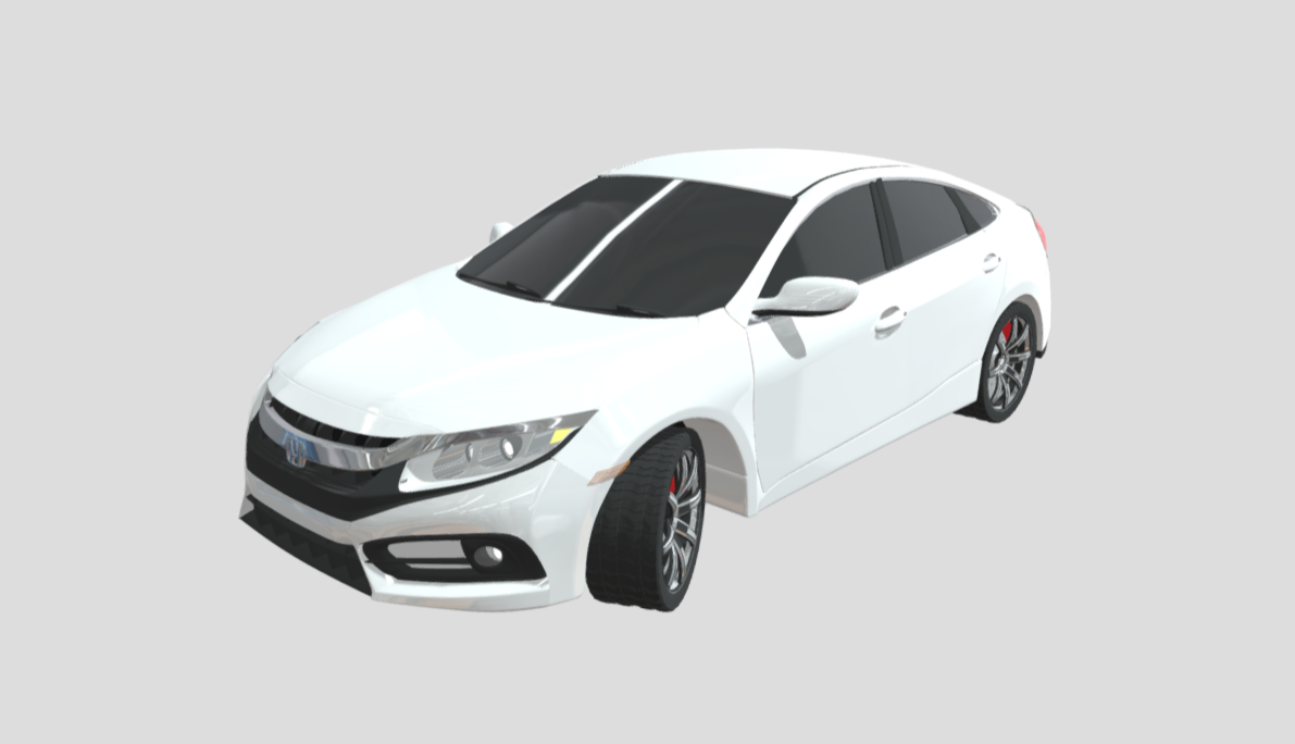 Civic white