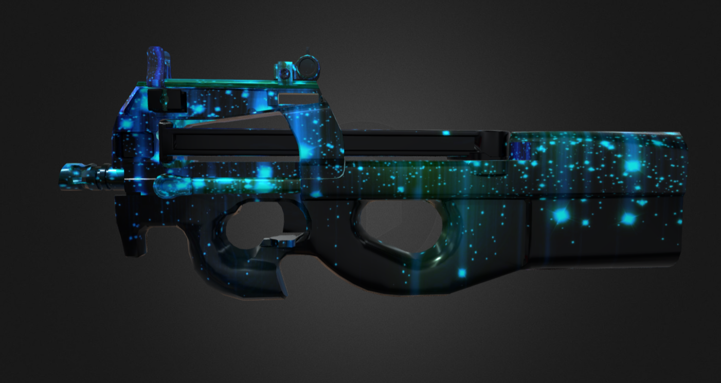 FN P90 REMAKE | SMG | SPACE SKIN
