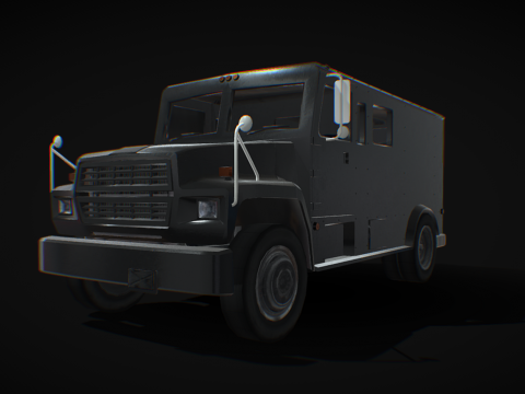Ford F700 Armored Truck