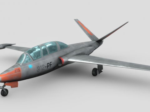 Fouga Magister [ Static Flight Simulator ]