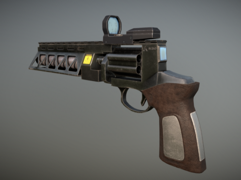 Gauss revolver