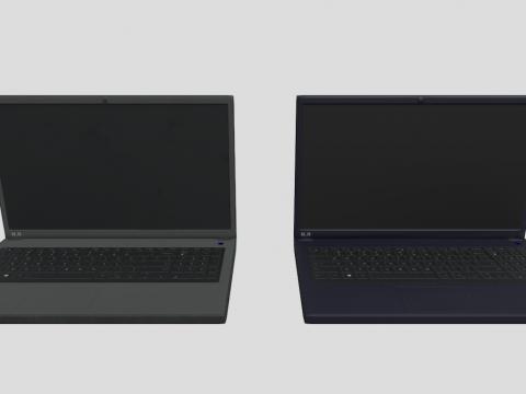 Laptop (Low-poly)