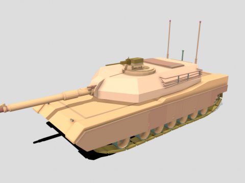 M1 Tank - Asset