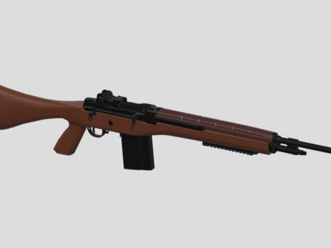 M14E2 Assault rifle