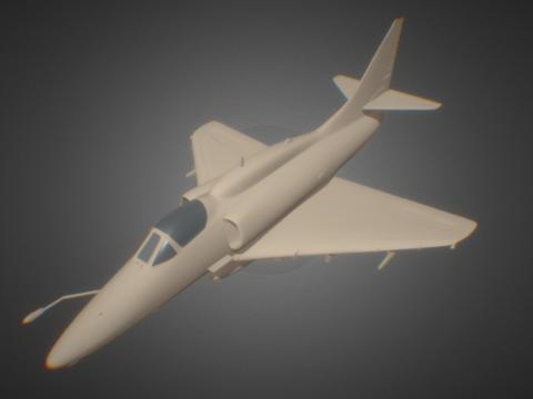MCDONNELL DOUGLAS A-4 SKYHAWK L-ATTACK AIRCRAFT