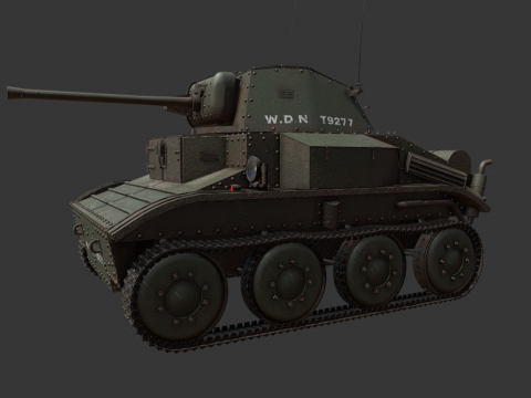 MK VII Tetrach Tank