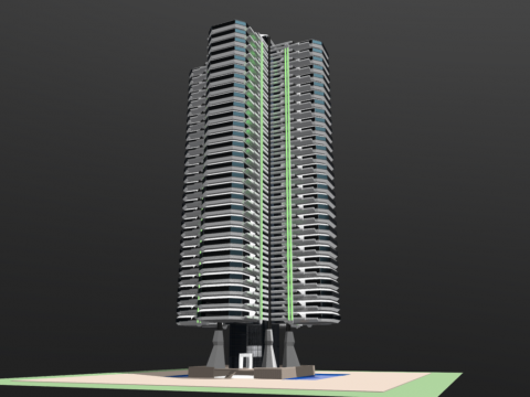 Modular Living Tower