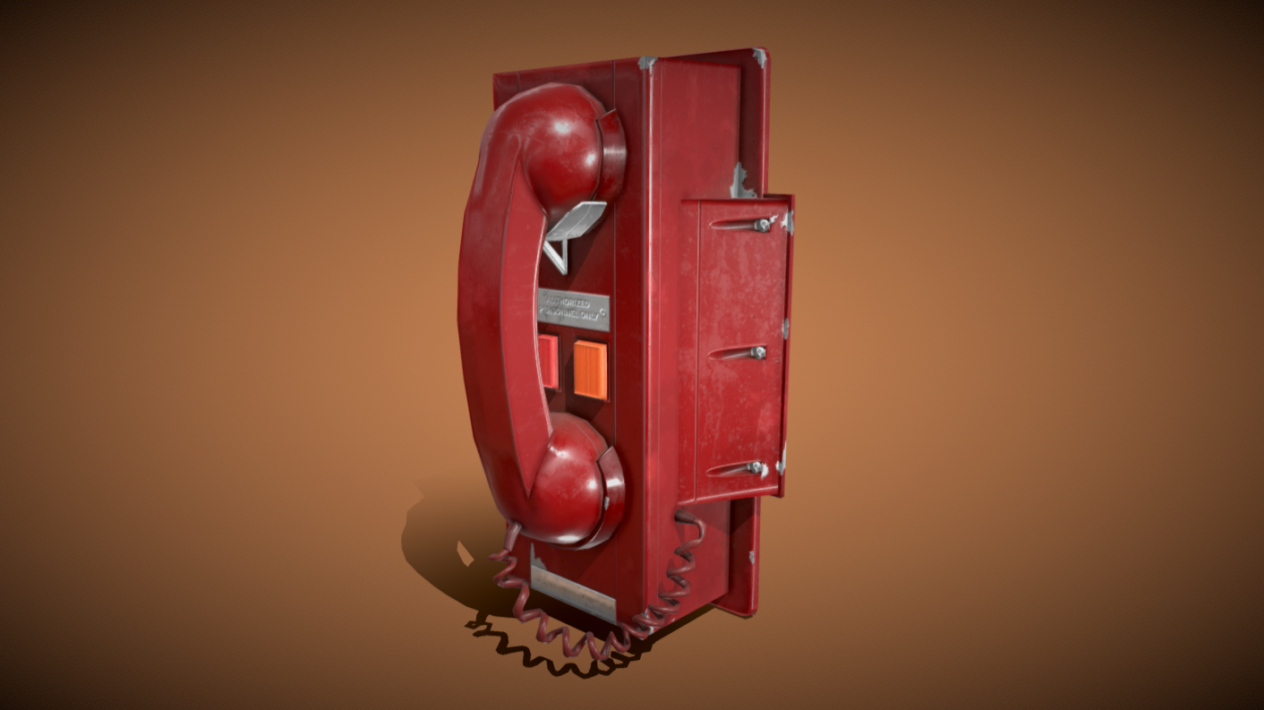 Red Telephone (Emergency Phone)