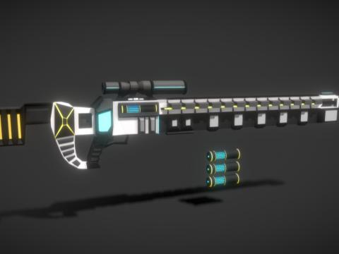 Sci-Fi Sniper Rifle (Revamp)