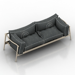 Sofa Marvelous 3d model