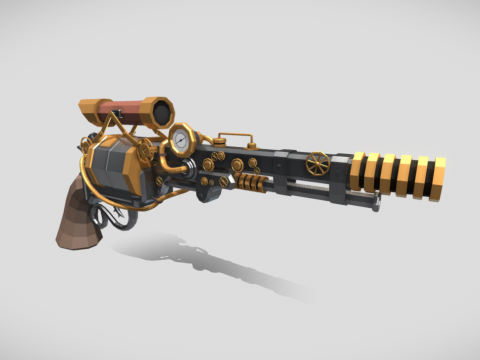 Steam Punk Revolver