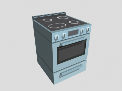 Stove Asset - Home Appliances