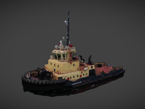 Svitzer Gelliswick - Fishing boat 3D Scan