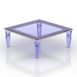 Table coffee Christelle 3d model