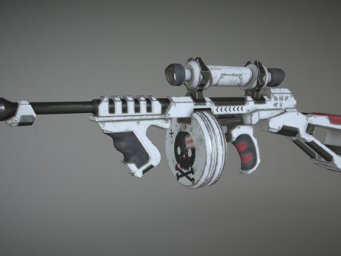 Thompson sci-fi gun