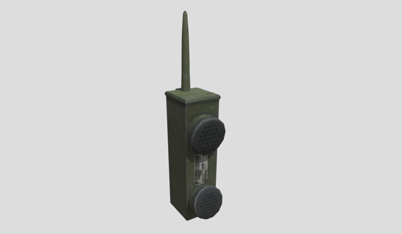 WW2 Handheld Radio