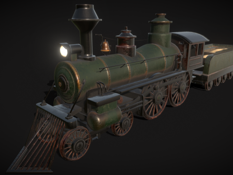 Wild West - Locomotive