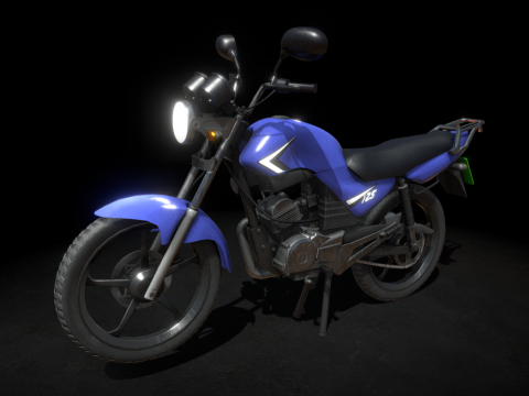 125cc Naked Motorcycle