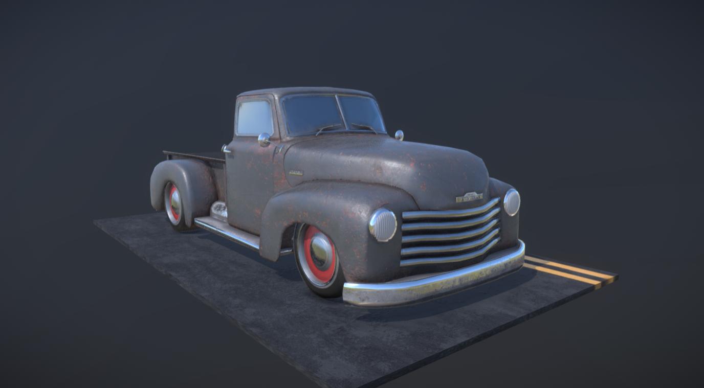 1951 Chevy StepSide Truck