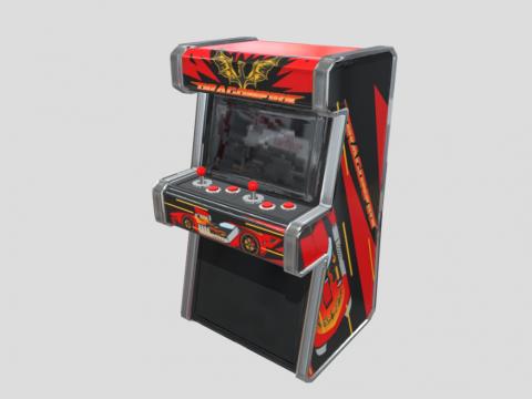 Game Assets: Arcade Machine