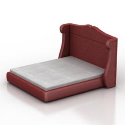 Bed Cavio Verona 3d model