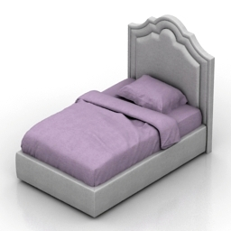 Bed Solford child Dantone Home 3d model