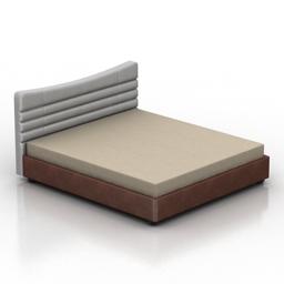 Bed layza DLS 3d model