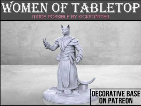 Catfolk Cleric - Tabletop Miniature