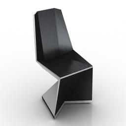 Chair BW 3d model