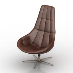 Chair Boconcept Boston 3d model