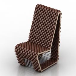 Chair Cork 3d model