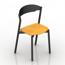 Chair Miniforms Tube 3d model
