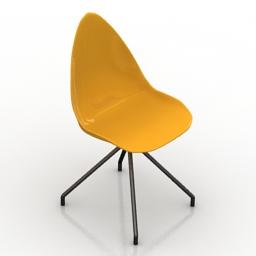 Chair Ottawa Karim Rashid 3d model