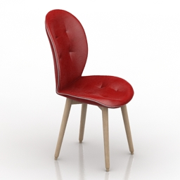 Chair Tonin Case 3d model