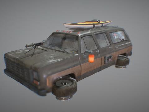 Cyberpunk Car - Truck