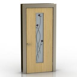 Door Framir Flora 3d model